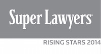 2014 Rising Star by the Southern California Super Lawyers magazine